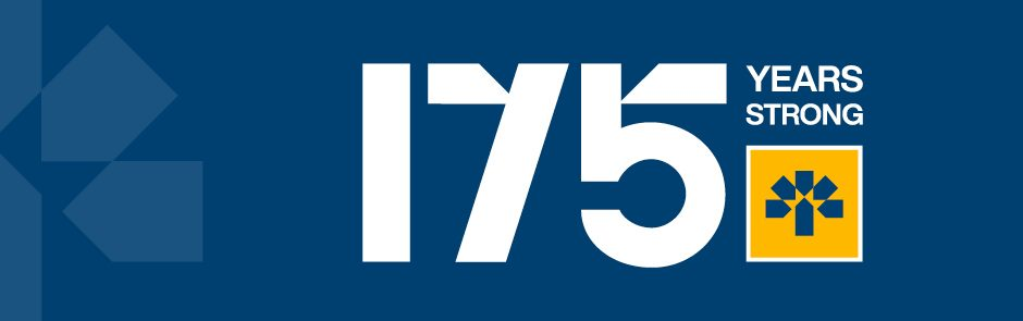 175 Years Strong - click to learn more